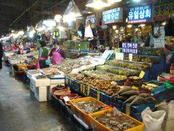 ノリャンジン水産市場1
