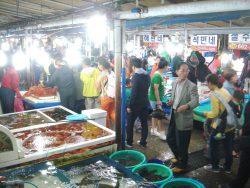 注文津(チュムンジン)市場