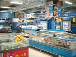 仁川(インチョン)鮮魚売場2