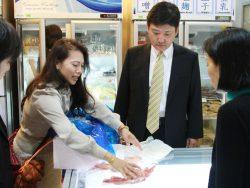日本食材販売店舗「誠屋」訪問