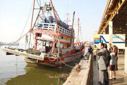 サムットサコン事務所訪問及び漁港視察2